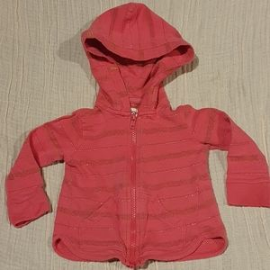 Size 2 Hatley light pink and gold jacket